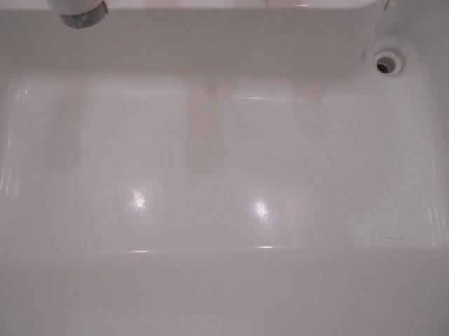 洗面台クリーニング ビフォー写真